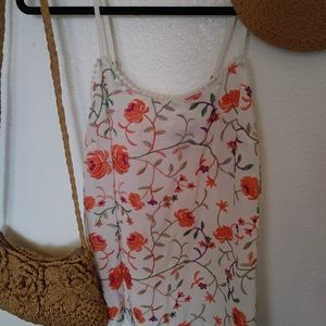 Embroidered Camisole